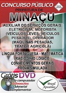 Minaçu - GO - 2020 - Apostilas Para o Nível Fundamental e Médio