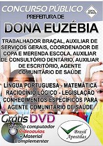 Dona Euzébia - MG - 2020 - Apostilas Para Nível Fundamental, Médio e Superior