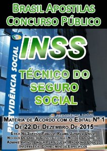 INSS 2016 - Apostila Técnico do Seguro Social