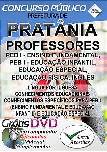 Pratânia - SP- 2020 - Apostila Para Professor