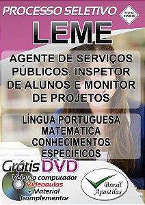 Leme, SP - 2020 - Apostilas Para Nível Fundamental, Médio e Professor