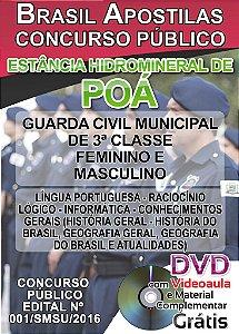 Poá 2016 - Apostila Para Guarda Civil Municipal