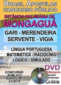 Mongaguá 2016 - Apostilas para todos os níveis - Diversos cargos