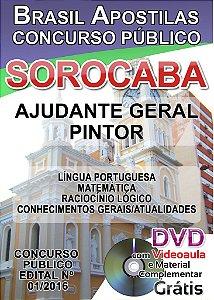 URBES 2016 - Sorocaba - Apostilas para Nível Fundamental e Nível Médio - Diversos Cargos