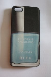 Capa iPhone 5 Chanel Le Vernis Bleu