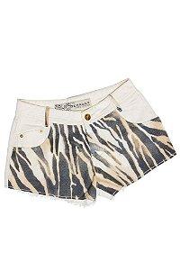 Shorts Sarja Zebra