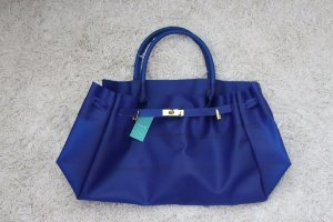 Bolsa Jane PVC Azul Grande