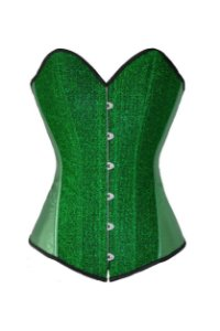 Corselet  Verde Decorado
