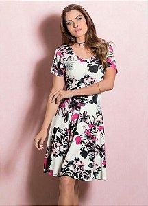 Vestido Floral Evasê