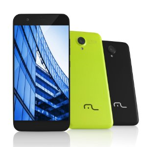 Smartphone MS50 4G Câmera 8 MP + 5 MP Quad Core 1GB Ram Pre