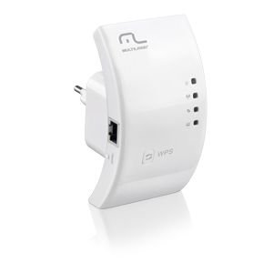 Roteador Repetidor 300Mbps WPS Multilaser - RE051