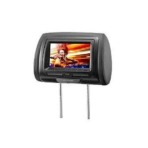 """Descanso de Cabeca com DVD Preto 7"""" Multilaser - AU709"""