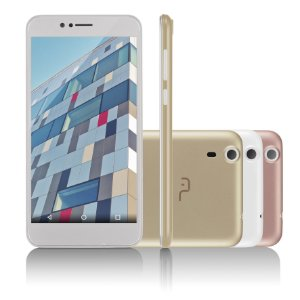 Smartphone Multilaser MS55 Quad Core Tela 5.5 Câmera 5MP+8M