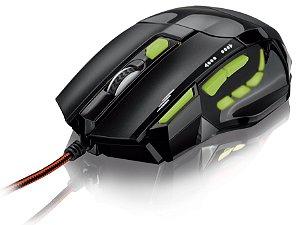 Mouse Óptico Xgamer Fire Button USB, 7 Botões, 2400 DPI Mu