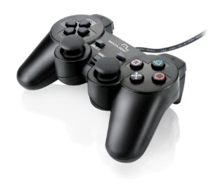 Joystick p/ PS2 com Dual Shock Multilaser - JS043