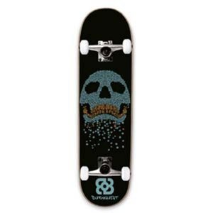 Skate Street Bob Burnquist Caveira Azul Atrio - ES077