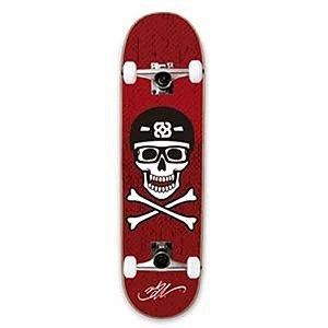 Skate Street Bob Burnquist - Caveira Vermelho Atrio - ES074