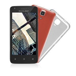 Smartphone 4,5 Polegadas Ms45s Preto Multilaser - Nb234