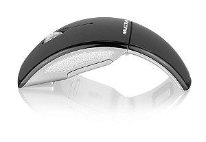 Multilaser Mouse Arco Wireless 2.4GHz USB Preto - MO153
