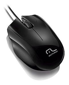 Mouse Multilaser Óptico Sport MO193 Preto