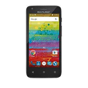 Smartphone MS45S Teen Preto 3G Tela 4.5 Camera 5MP + 3MP Qua