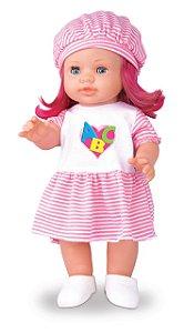 Boneca ABC Baby Brinque Feliz - 787
