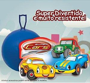 "Bola Pula Pula 20"" Cars Brinque Feliz - 796"