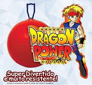 """Bola Pula Pula 20"""" Dragon Power Brinque Feliz - 713"""
