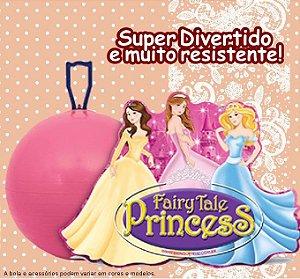 """Bola Pula Pula 20"""" Princesas Brinque Feliz - 779"""