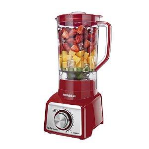 Liquidificador Premium Red 127v Mondial - L-1000