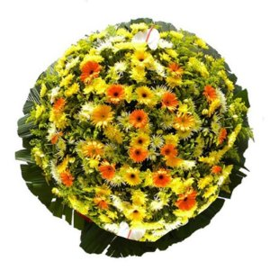 3- Coroa de Flores para Velório - Fraternidade