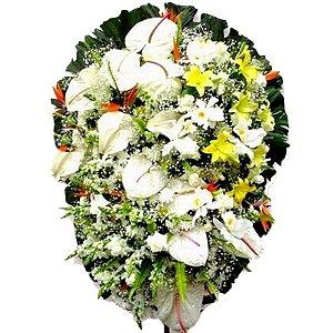 Coroa de Flores para Velório - Memorial