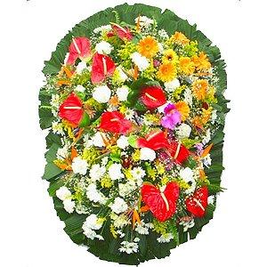 Coroa de Flores para Velório - Saudade