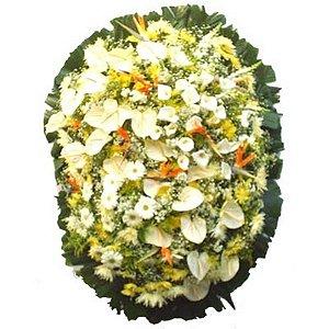 Coroa de Flores para Velório - Ternura