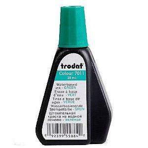 Tinta para Carimbo Automático Trodat 7011 - Verde