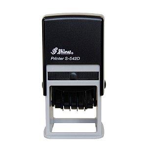 DUPLICADO - Carimbo Auto-Entintado Colop Printer Q43 Datador