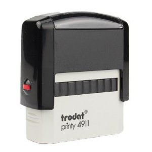 Carimbo Personalizado Trodat Printy 4911 P2 - PRETO