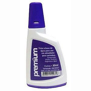 Tinta para Carimbo Auto-Entintado Premium - Violeta