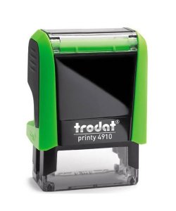 Carimbo Personalizado Trodat Printy 4910 P4 - Verde
