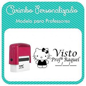 Carimbo Personalizado para Professores - Modelo PRF-01