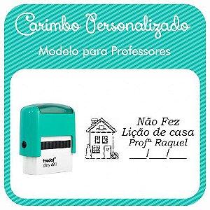 Carimbo Personalizado para Professores - Modelo PRF-03