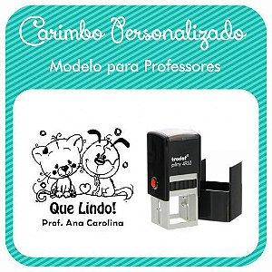 Carimbo Personalizado para Professores - Modelo PRF-07