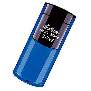 Carimbo de Bolso Shiny Handy Stamp - Azul