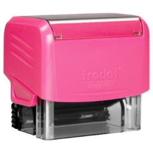 Carimbo Personalizado Trodat Printy 3911 Rosa Neon