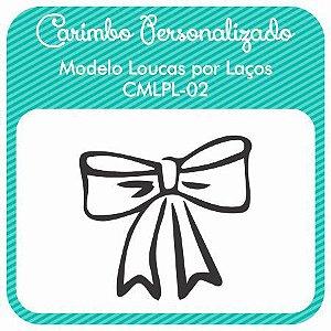 Carimbo de Madeira Personalizado Modelo CMPLP-02