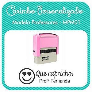 Carimbo Personalizado Modelo Professores - MPM01