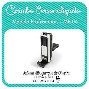 Carimbo Personalizado Modelo Profissionais - MP-04