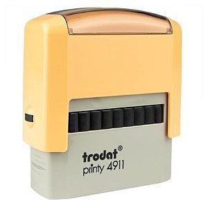 Carimbo Personalizado Trodat Printy 4911 P2 - Creme