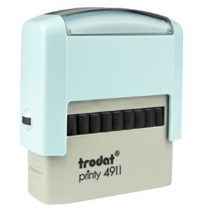 Carimbo Personalizado Trodat Printy 4911 P2 - Azul Bebê