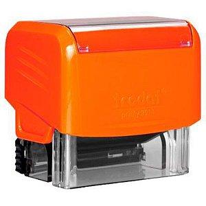 Carimbo Personalizado Trodat Printy 3911 - Laranja Neon